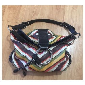 Isabella Fiore Bucket Hobo Bag